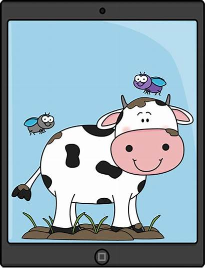 Farm Animals Tablet Ipad Animal Clipart Technology