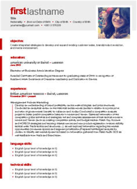 Curriculum Vitae Maker Free by Free Cv Builder Free Resume Builder Cv Templates
