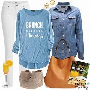 Frugal Fashion Friday Saturday Morning Brunch Outfit