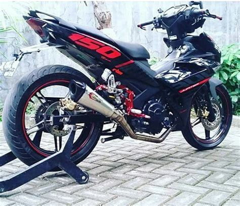 Modifikasi Mx King Warna Hitam by Modifikasi Motor Mx King Warna Hitam