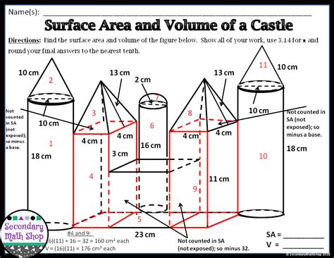 The Spectacular World Of Secondary Math Activities To Encourage Collaboration #1 Surface Area