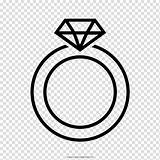 Anillo Ring Wedding Icon Colorear Para Drawing Rings Bodas Clipart Coloring Transparent Background Icons Earring Vector Clip Pagina Hd Library sketch template