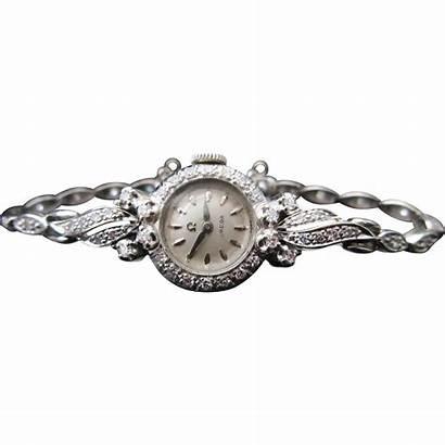 Omega Ladies Diamond Gold Deco Watches Swiss