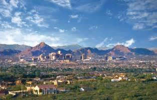City Phoenix Arizona Desert