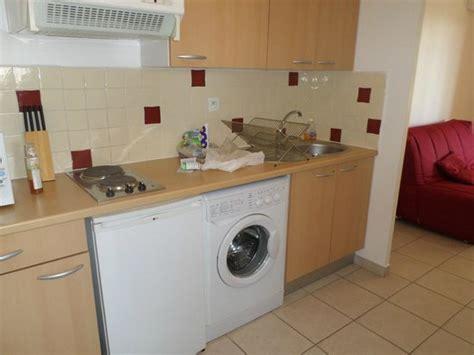 cuisine avec lave linge picture of l 39 inter hotel cote