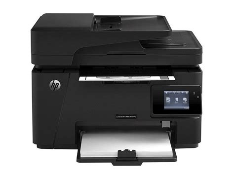 Hp printer this mfp is ideal for those who frequently print documents of professional quality. HP LaserJet Pro M127FW Wireless Monochrome MultiFunction Printer 600x600dpi USB Ethernet CZ183A# ...