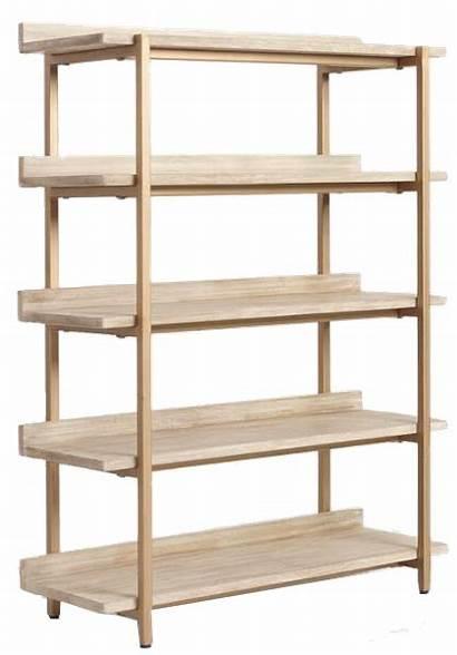 Bookshelf Decorist Bookshelves Shelves Cristela Driftwood Built