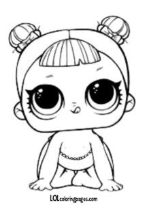 series  lol surprise doll coloring pages
