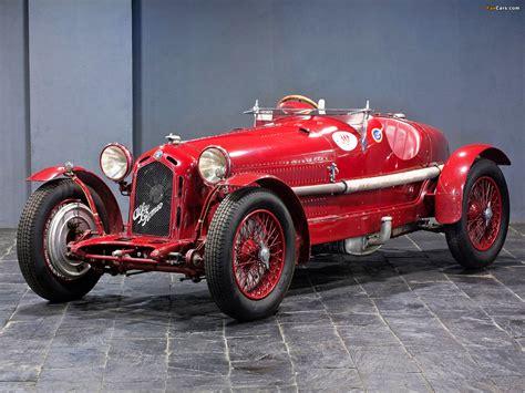 1932 Alfa Romeo 8c 2300 Monza Alfa Romeo 8c 2300 Monza