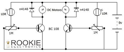 Lfr Using Transistors Rookie Electronics