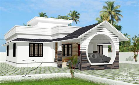 1109 SQ FT SINGLE FLOOR HOME – Kerala Home Design