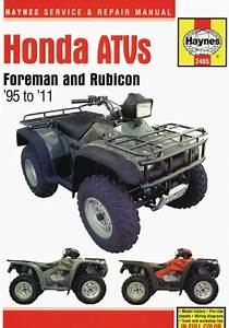 Honda Foreman 400  U0026 450  U0026 500 Atvs 1995