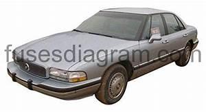 Fuse Box Diagram Buick Lesabre  1992  1993  1994  1995