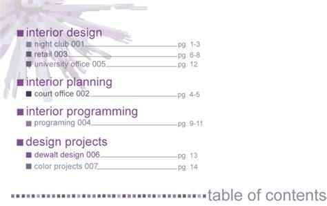 11439 architecture portfolio table of contents interior design portfolio by scassellati at