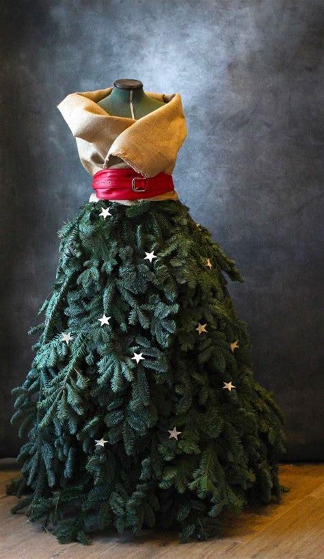 inspirations pour noel des sapins haute couture