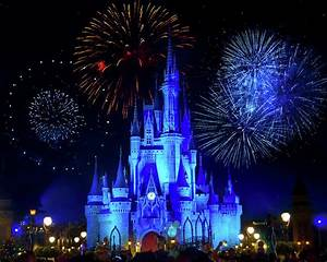 Cinderella Castle Fireworks Photograph by Mark Andrew Thomas