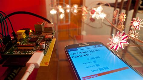 raspberry pi enabled christmas lights element14