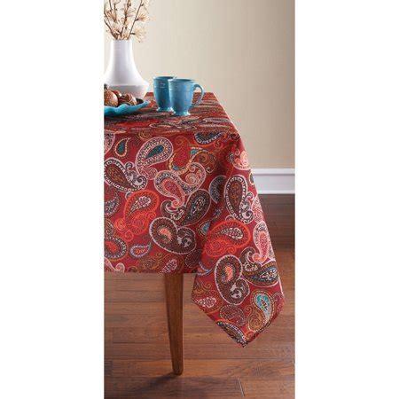 Mainstays Paisley Tablecloth   Walmart.com