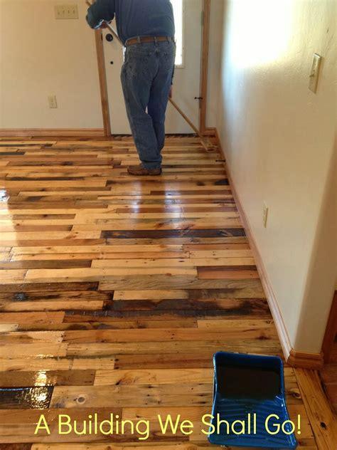 building     art  pallet wood flooring