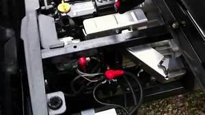 2012 Polaris Ranger Crew Diesel Engine Compartment