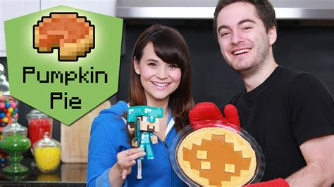 This is absolutely the best homemade pumpkin pie recipe! MINECRAFT PUMPKIN PIE ft. CaptainSparklez! - NERDY NUMMIES ...