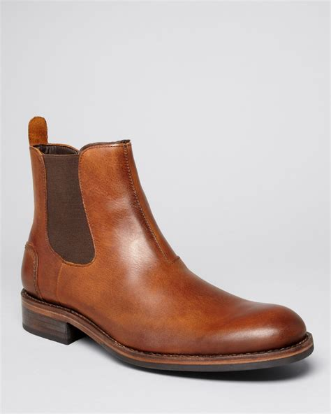 Wolverine Leather Montague Chelsea Boots in Tan (Brown ...