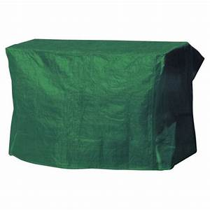 buy tesco garden swing bench cover green from our garden With garden furniture covers tesco