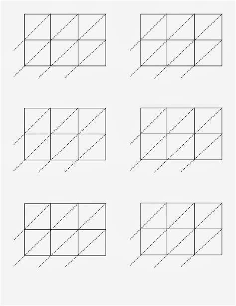 Lattice Multiplication Worksheet  Lattice X Sheets Math Pinterest Lattices Multiplication And