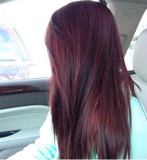 Black Colored Hairstyles by 25 Best Ideas About Purple Burgundy Hair On