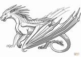 Dragon Coloring Pages Awesome Realistic Fire Printable Breathing Getcolorings sketch template