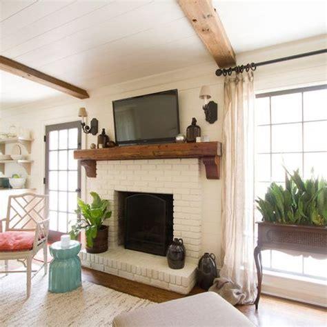 white brick fireplace white brick fireplace decorating ideas