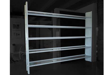 librerie design libreria bifacciale libreria in acciaio