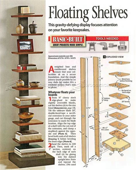 woodworking shelf page