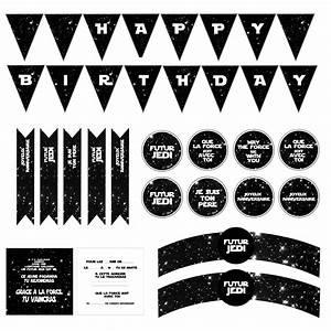 Star Shower Motion Pas Cher : anniversaire star wars carte invitation et deco imprimer ~ Dailycaller-alerts.com Idées de Décoration