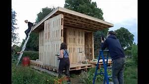 Gartenhaus Aus Paletten : gartenhaus am holstenkamp diy palette house with assembly instructions youtube ~ A.2002-acura-tl-radio.info Haus und Dekorationen