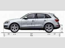 Audi Q5 Abmessungen & Technische Daten Länge, Breite