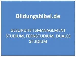 Duales Studium Management : gesundheitsmanagement studium voraussetzungen dauer ~ Jslefanu.com Haus und Dekorationen