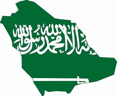 Saudi Arabia Flag Map Wikipedia Svg