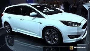 Ford Focus Sw St Line : 2018 ford focus st line exterior and interior walkaround 2017 frankfurt auto show youtube ~ Medecine-chirurgie-esthetiques.com Avis de Voitures
