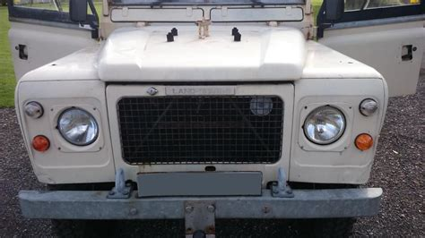 land rover series 3 109 v8 stage one