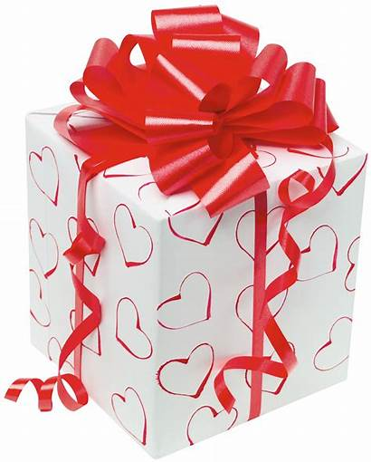Gift Present Clipart Bow Box Gifts Transparent