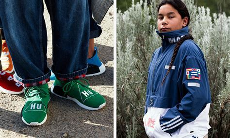 """Pharrell Williams & adidas Unveil Colorful """"Hu"""" Collection"""