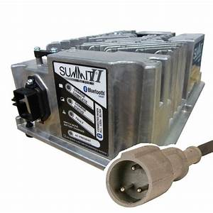 Club Car 48v Golf Cart Battery Charger Lester Summit Series Ii