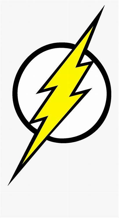 Lightning Bolt Clip Flash Superhero Cartoon Netclipart