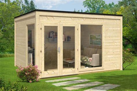 Gartenhaus Design Flachdach by Pultdach Und Co Die Dachformen Gartenh 228 Usern