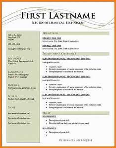 5 latest cv formats free download ms word ledger paper for Latest resume templates free