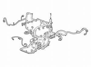 Gmc Yukon Xl Engine Harness  4wd  W  O Adaptive Cruise