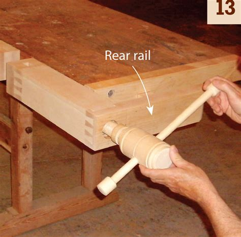 wooden tail vise popular woodworking magazine