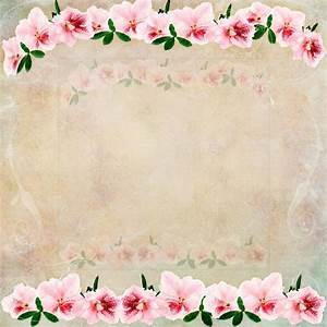 Vintage Floral Background — Stock Photo © StephanieFrey ...