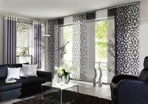 modernes wohnzimmer schwarz 31 wunderschöne modelle moderne schiebegardinen